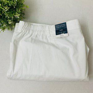 3/$30 Karen Scott Plus Comfort Waist Capri 24W